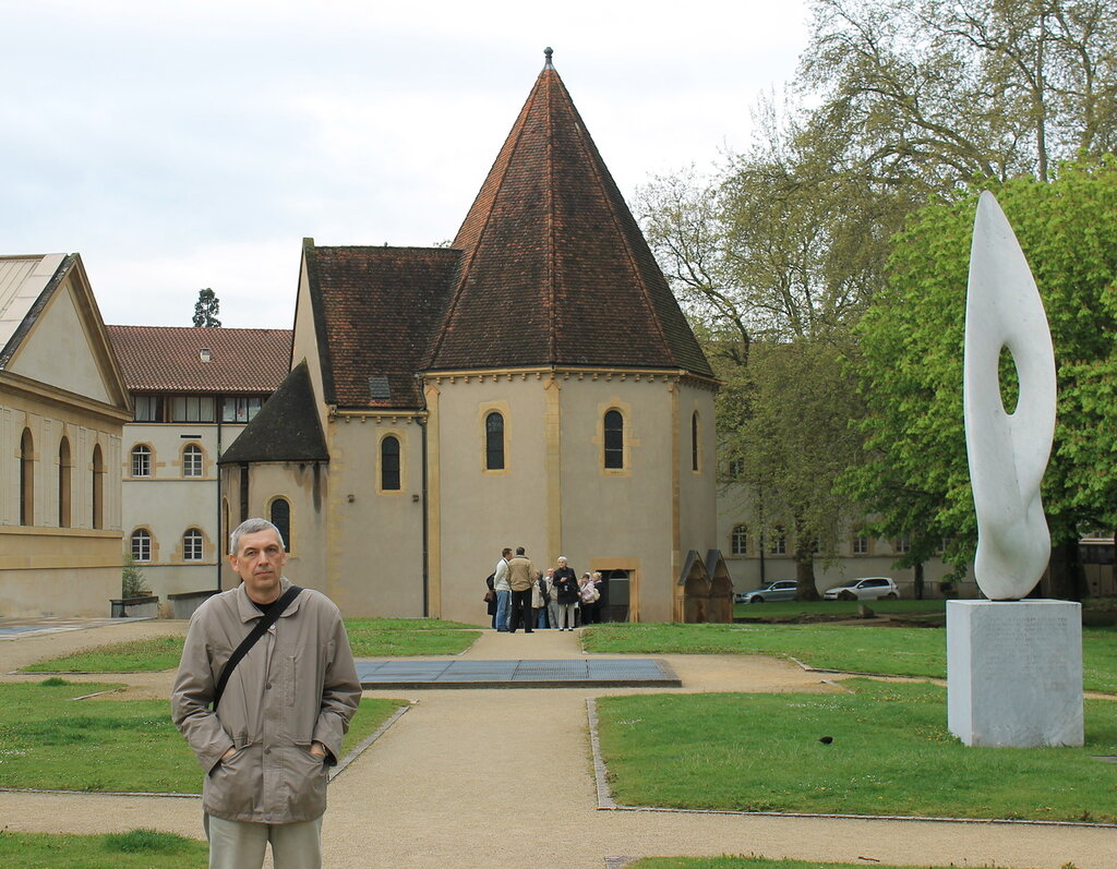 Мец. Капелла тамплиеров. Chapelle des Templiers.  Metz