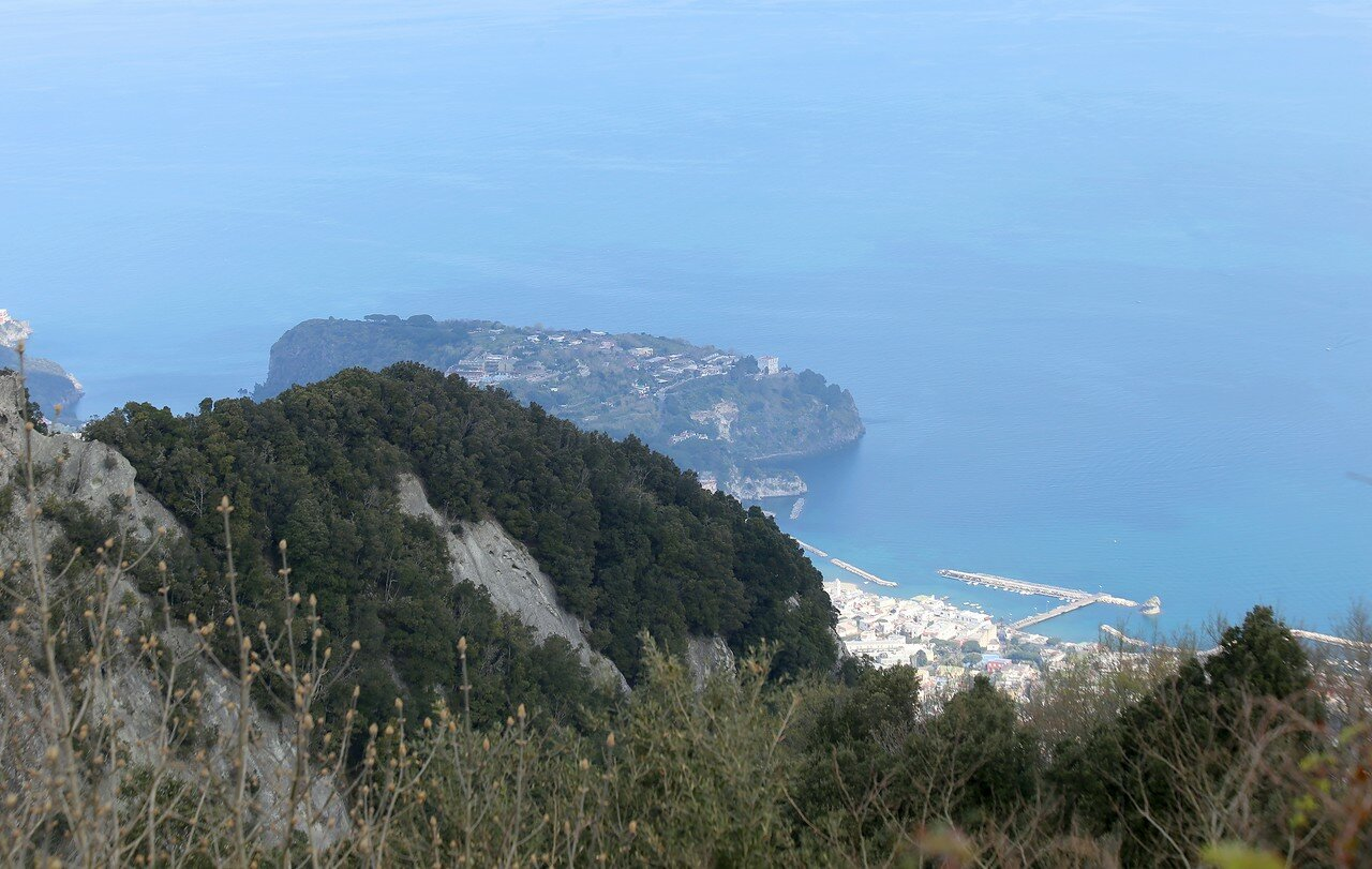 Ischia. Lacco Ameno. View from Monte Epomeo.