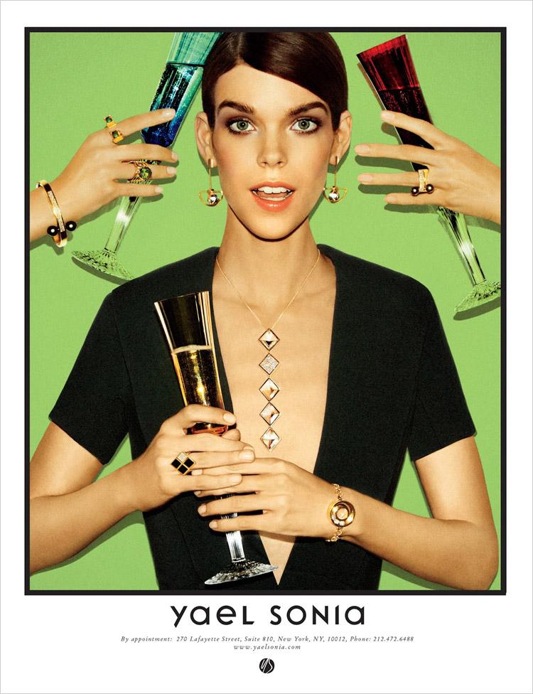 Меган Коллисон (Meghan Collison) в рекламной фотосессии для Yael Sonia