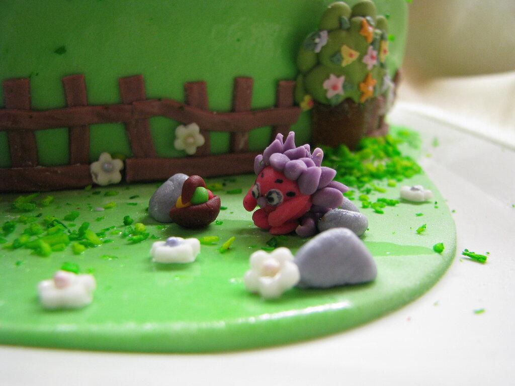Торт с маскарпоне и яблоками фото 9