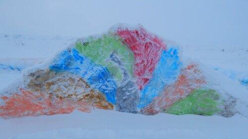 Снежный городок Барабинск