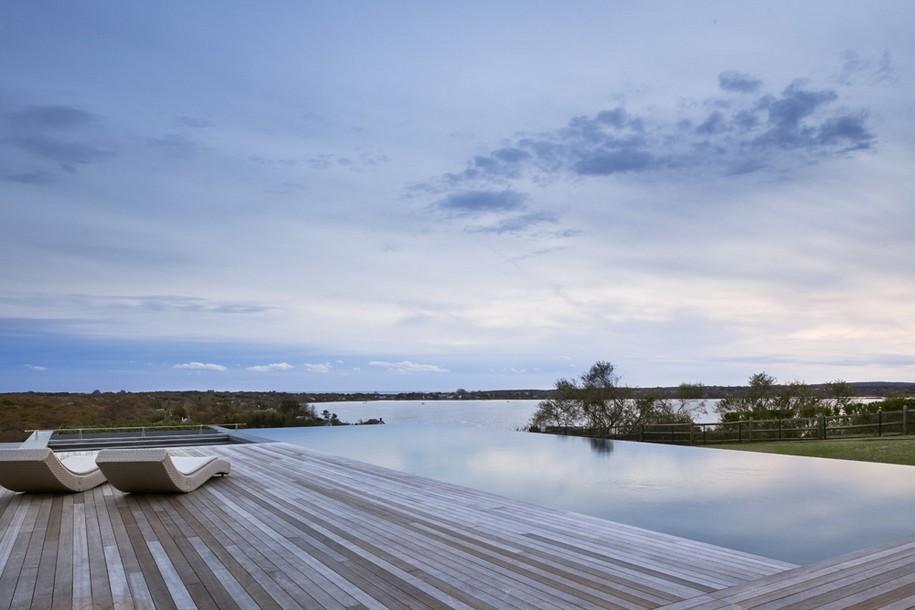 Genius Loci House на берегу озера в штате Нью-Йорк