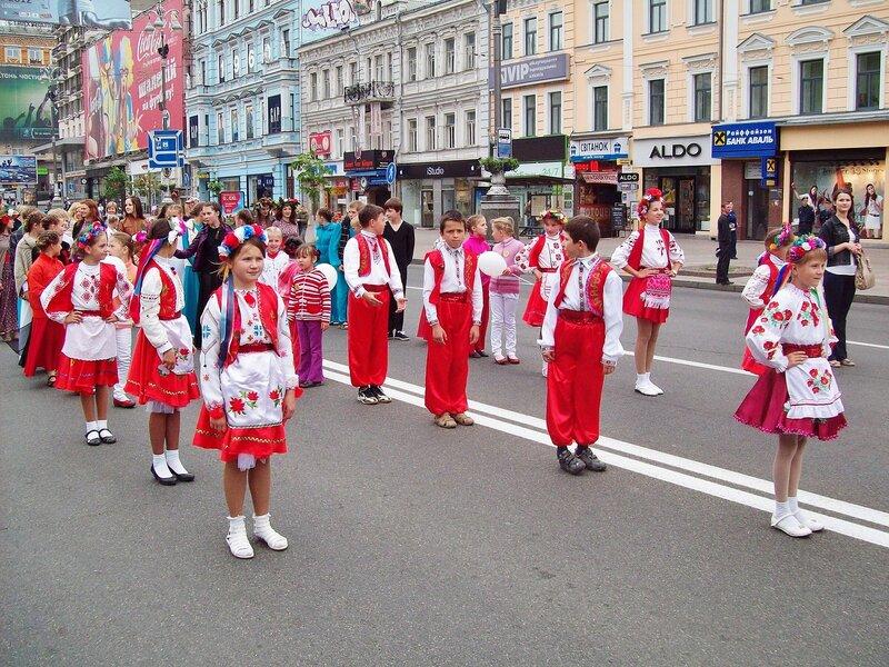 Европейский парад 2012 на Крещатике