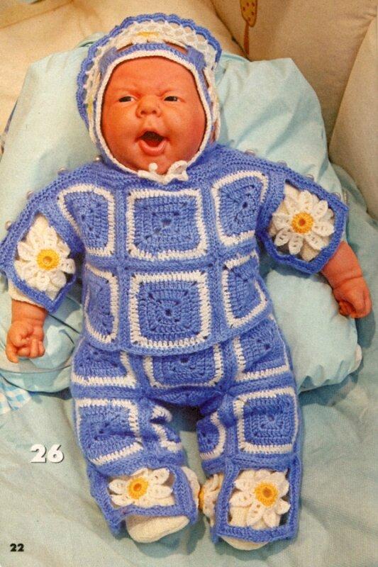 Вязаная одежда для кукол и медвежат 01/2012.  Прочитать целикомВ.