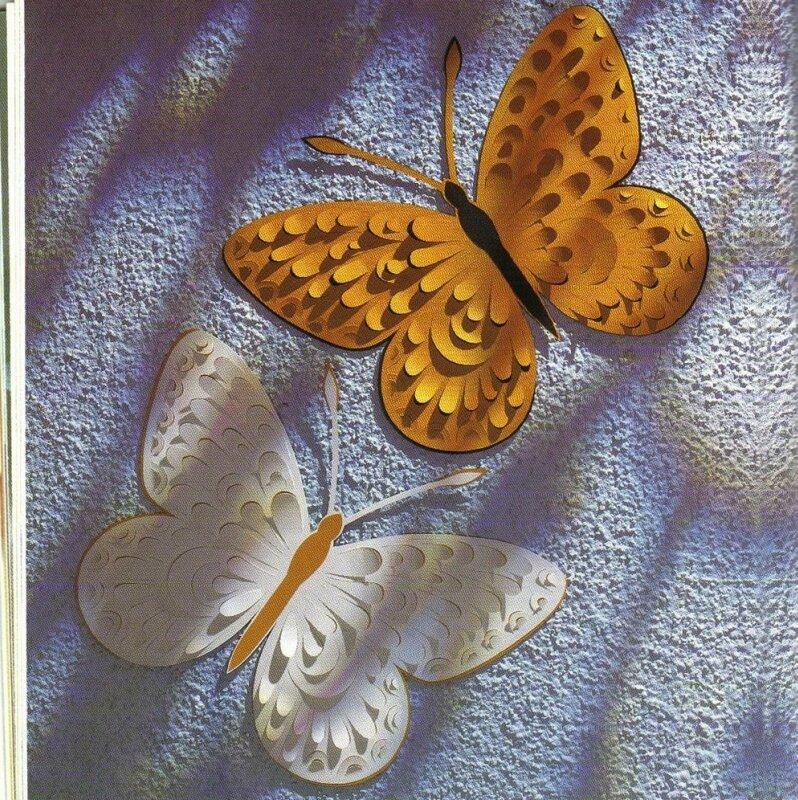 Бабочка поделка своими руками фото