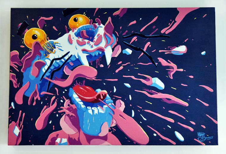 Explosive Pop Culture - The colorful creations of Matt Gondek