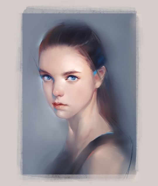 Portrait Illustrations by Xiao Ji