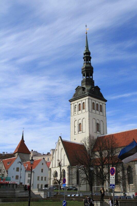 Таллинн, Старый город, Церковь Нигулисте