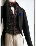 Городской мужской костюм 17-19 век.Подлинники.