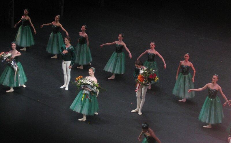 """""""Драгоценности"""", 10 мая 2012 г., балет Большого театра, поклоны"""