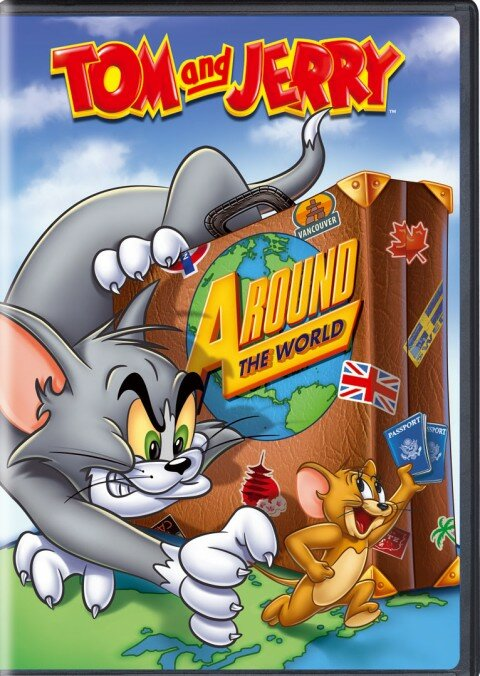 Том и Джерри: Вокруг Света - Tom and Jerry: Around the World (2012) DVDRip