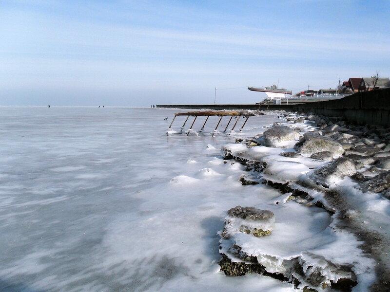 В январе, радость ледяная