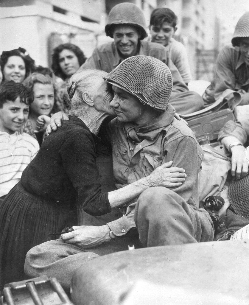 Италия 1945