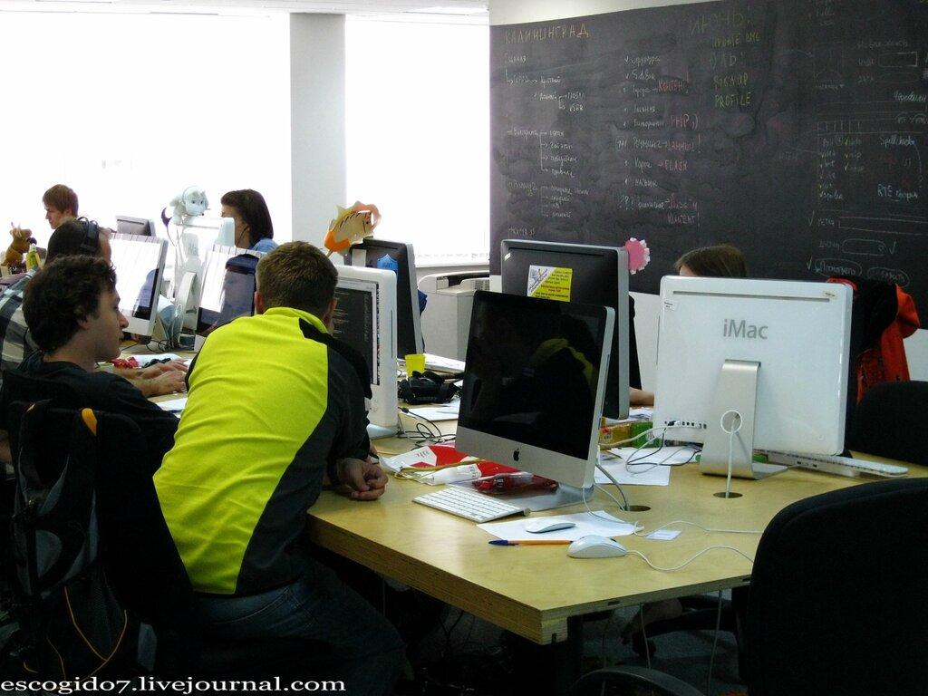 Как устроен офис Живого Журнала