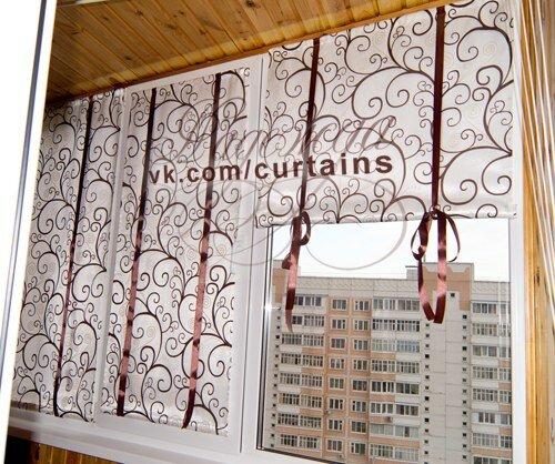 Шторы на sfino: шторы на балконе.
