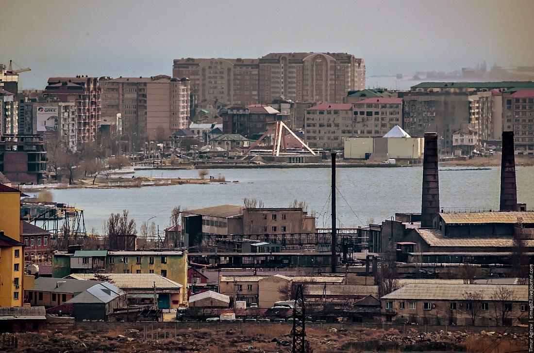 Махачкала с 17-го этажа (фото и 110-ти мегапиксельная панорама)