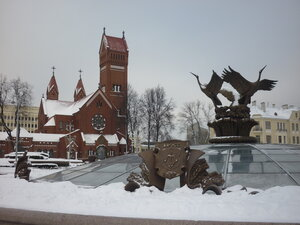 Минск. Центральная площадь