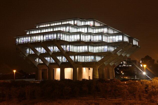 Библиотека Гейзеля. Калифорния, США