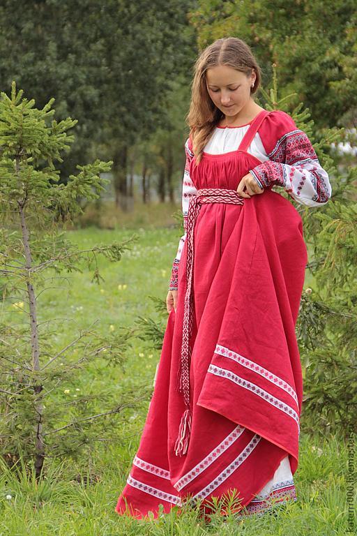 История русского сарафана