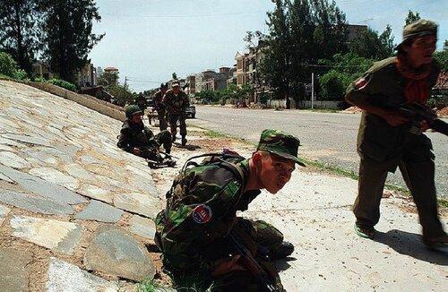 Красные кхмеры, освобождение Камбоджи