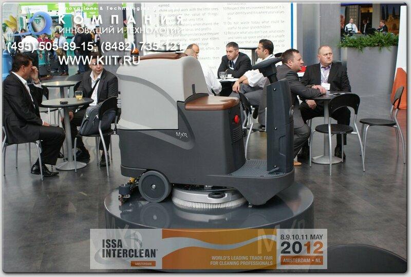 FIMAP - самая маленькая поломоечная машина с сиденьем FIMAP MxR