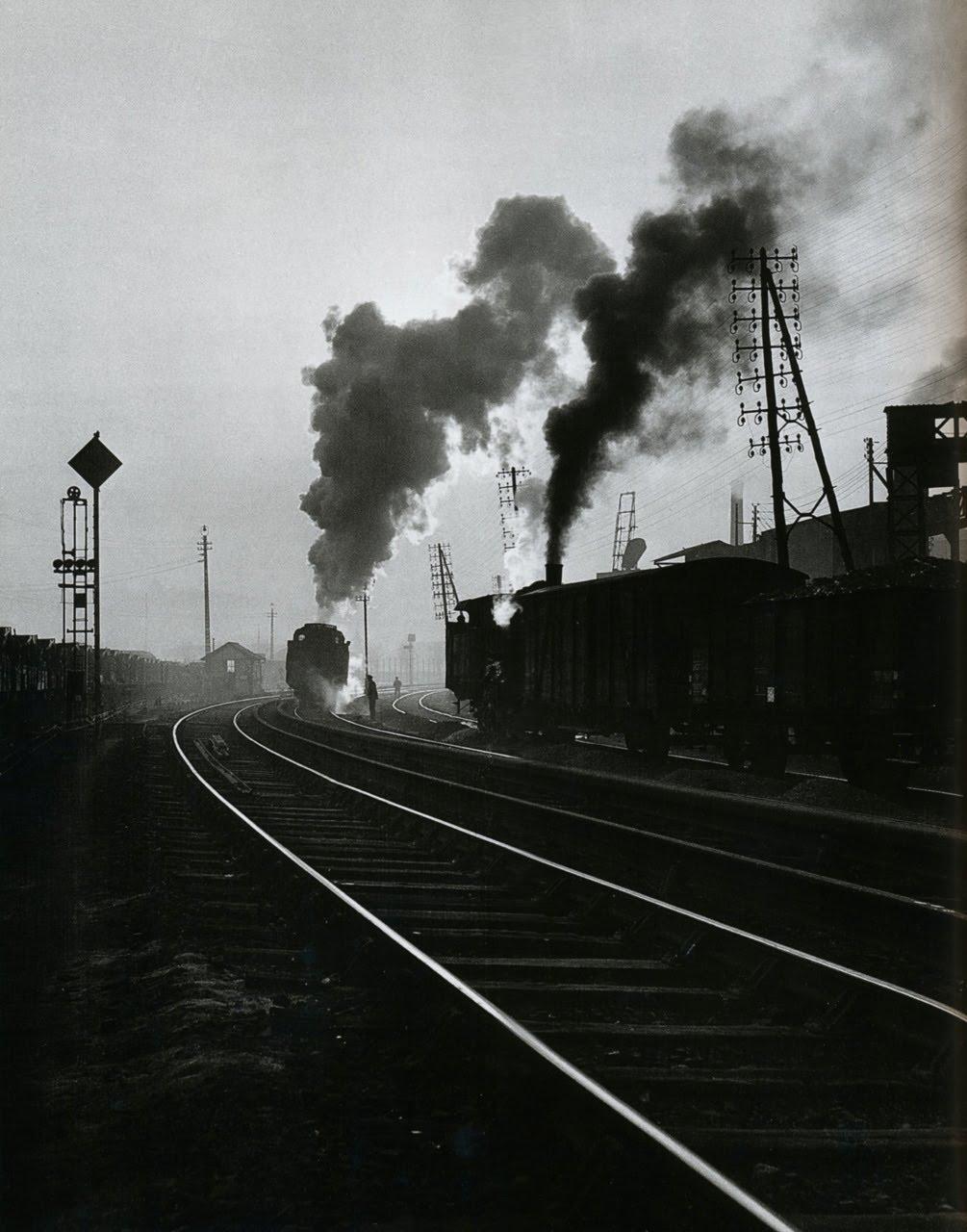 1950. Восточный вокзал. Париж