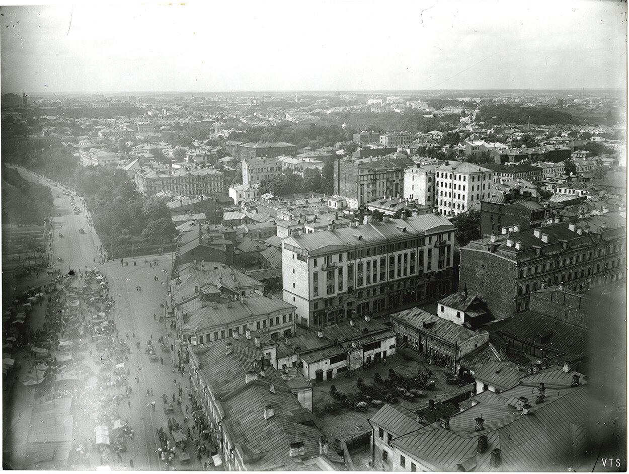 561. Панорама Москвы с Сухаревой башни. 1910-е