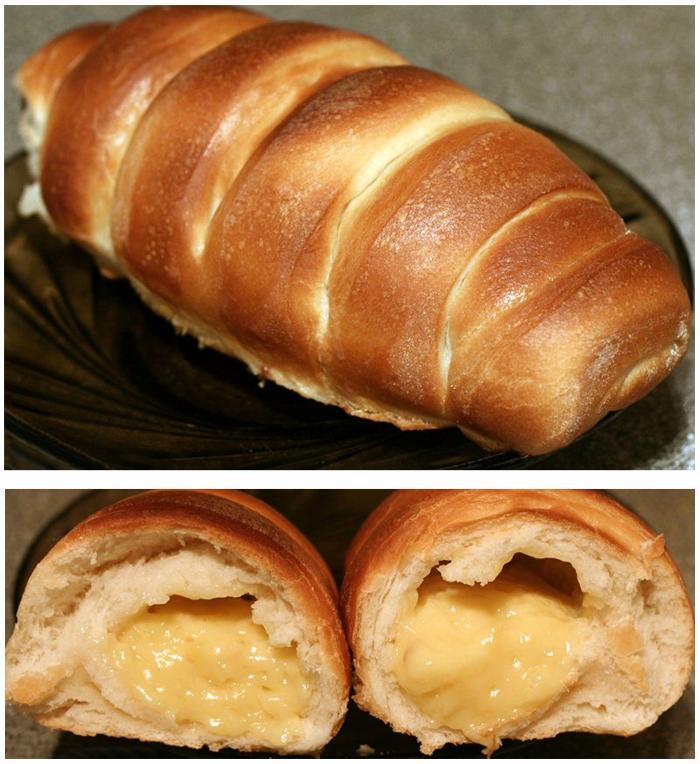 булочки крем де паризьен фото рецепт приготовление