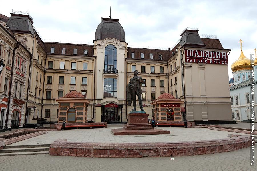 Памятник Ф.И.Шаляпину