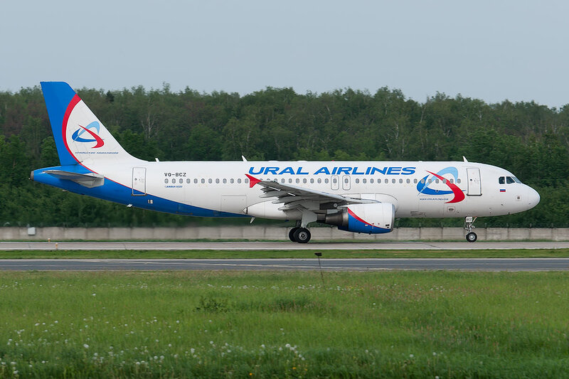 Airbus A320-214 (VQ-BCZ) Ural Airlines DSC0430