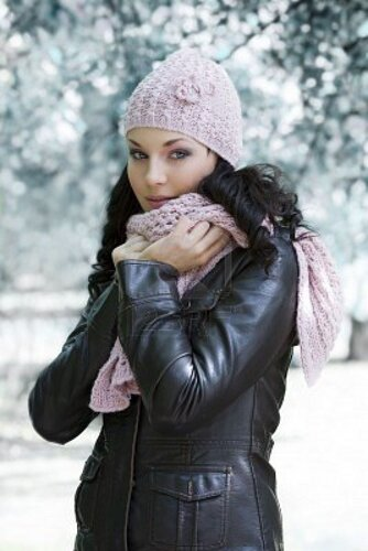 кожаные зимние куртки