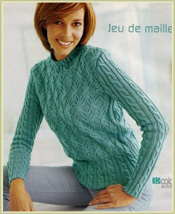 женские пуловеры спицами с