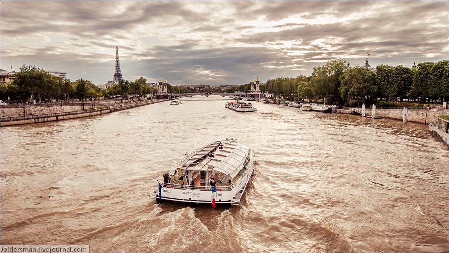 вечерний Париж фото