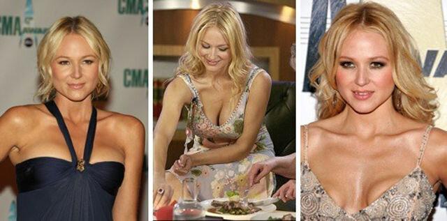 Знаменитости с силиконовой грудью
