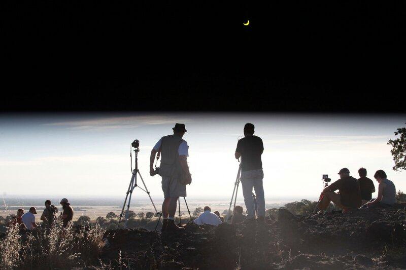 Солнечное затмение в Калифорнии | Фотография