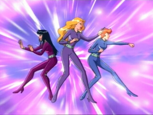 Totally Spies go.