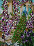 Изделия из бисера: картины, вышивки, деревья.  Лентами, мулине, би.
