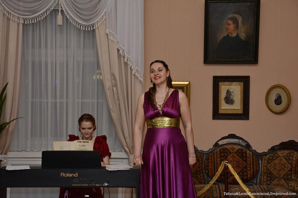 Ночь музеев во дворце Румянцевых и Паскевичей. Гомель