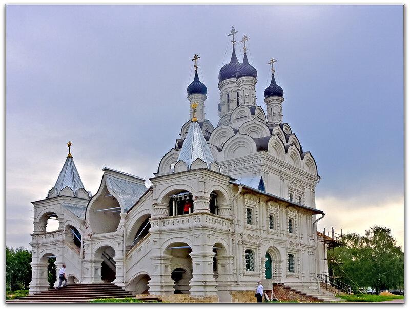 Церковь Благовещения Пресвятой Богородицы в Тайнинском !!!