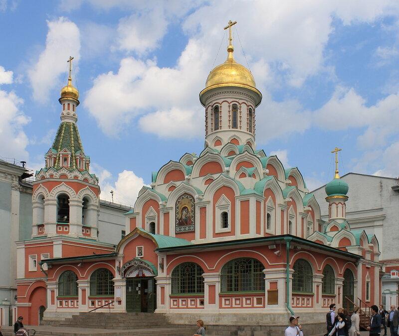 Москва. Красная площадь, Собор Казанской Божьей Матери