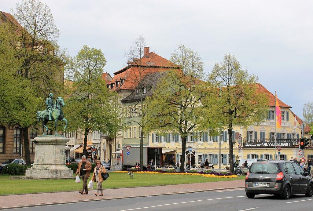 Bamberg. Schönleinsplatz (Johann Schönlein square)