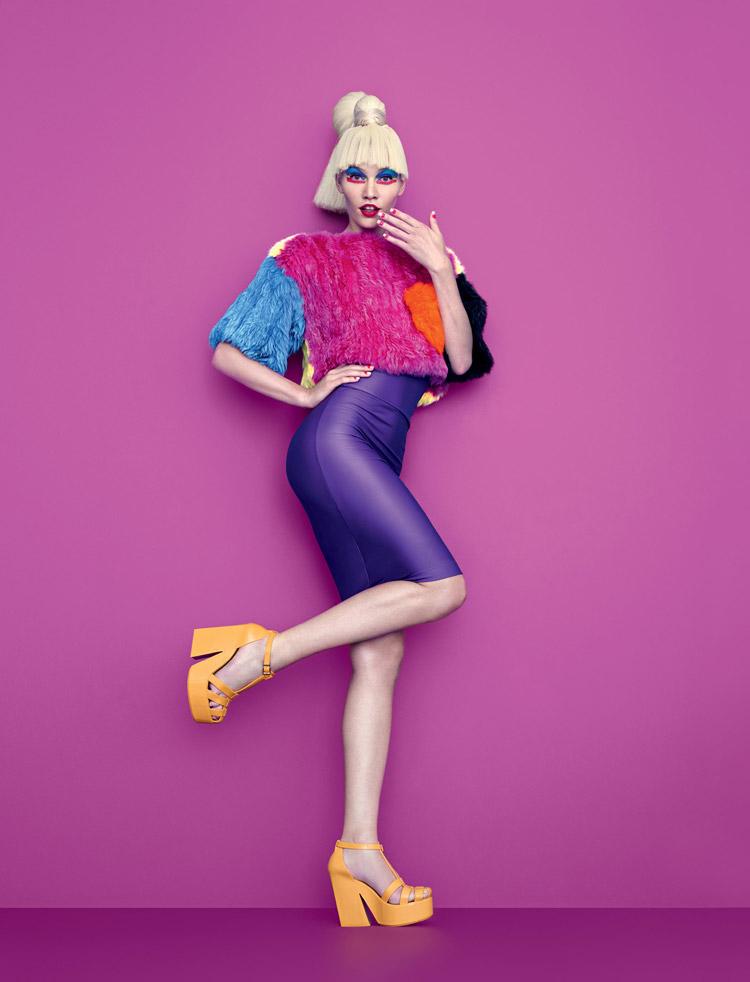 Алина Вебер (Aline Weber) в журнале Plastic Dreams