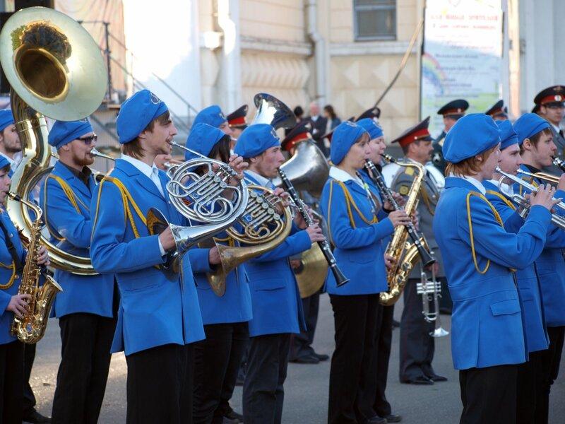 оркестр Кировского училища искусств
