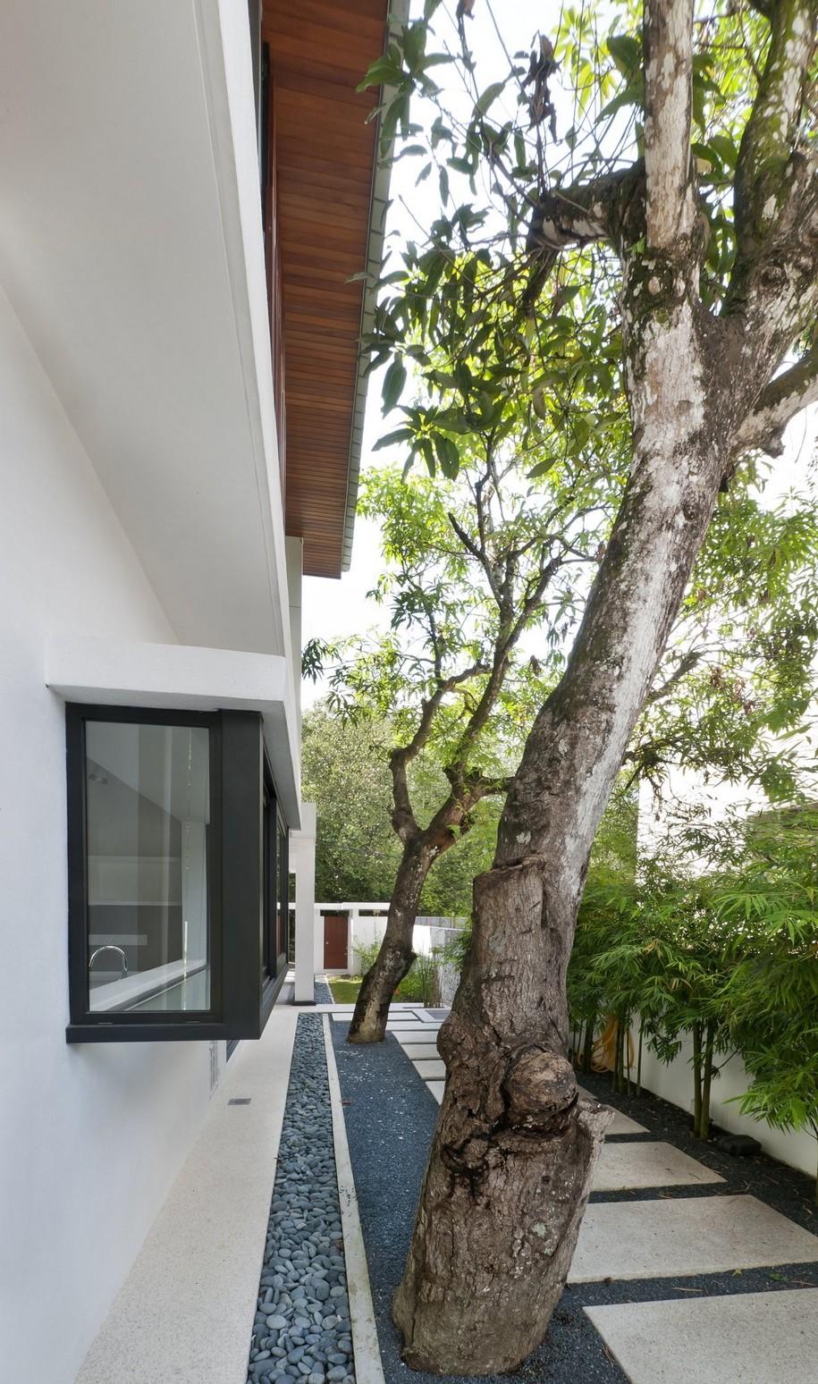 Hijauan House среди пальм Куала-Лумпура, Малайзия