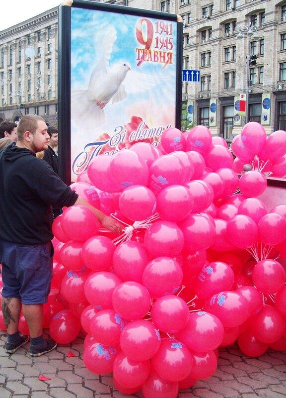 День Победы 2012 на Крещатике