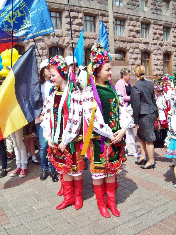 Украина на Дне Европы
