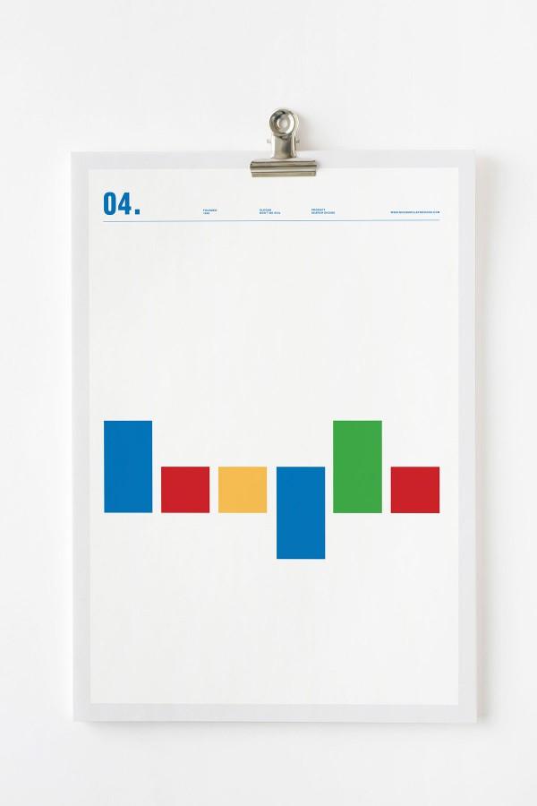 10 logotipos foram substituidos por linhas
