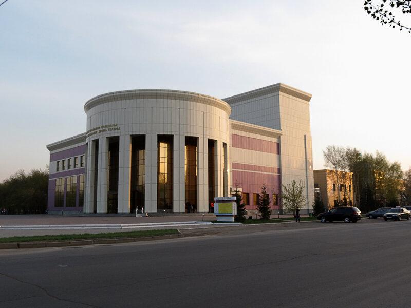 Казахский драмтеатр - 2012. Комментарии к фото - Кокшетау Онлайн