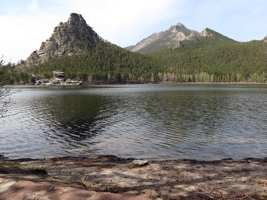 Боровое. Классический вид с берега озера - 2012 год. Комментарии к фото - Кокшетау Онлайн