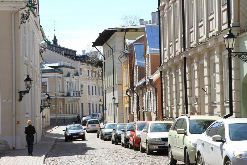 Эстония, улочки Тарту